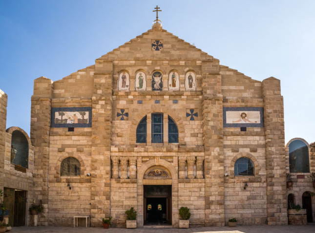 La chiesa di San Giovanni Battista a Madaba