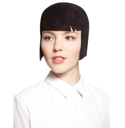 Cappello Anna in feltro di lapin di Eugenia Kim disponibile in rosso e nero