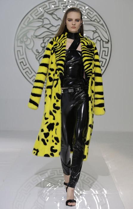 Donatella Versace è una intenditrice in fatto di animalier. Ecco la sua versione per l'autunno-inverno 2013-2014