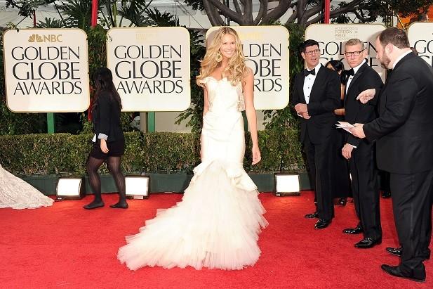 Elle Macpherson ai Golden Globe Awards