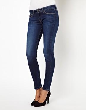 Jeans skinny di Pepe Jeans in cotone elasticizzato