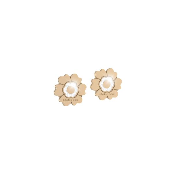orecchini fiore Rebecca forma piena