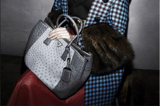 Borse Prada f/w 2013-2014: modelli bi e tri-color