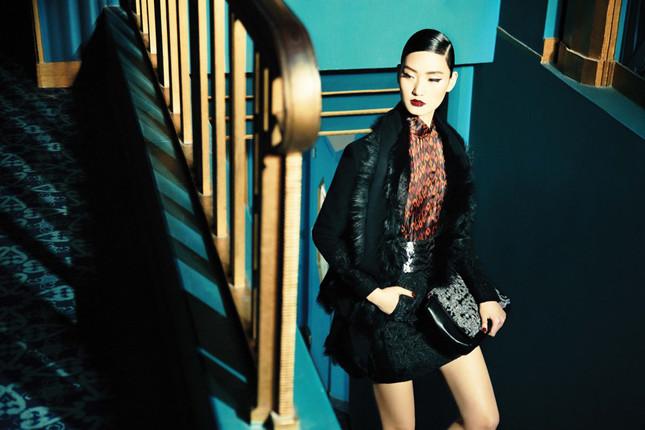 La campagna della collezione autunno-inverno 2014 Shangai Tang