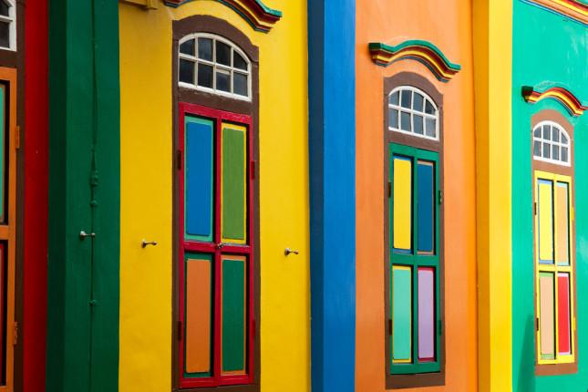 I colori del quartiere Little India