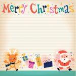 Letterine a Babbo Natale da stampare