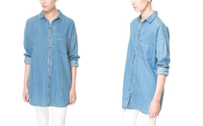 Camicia di jeans Zara