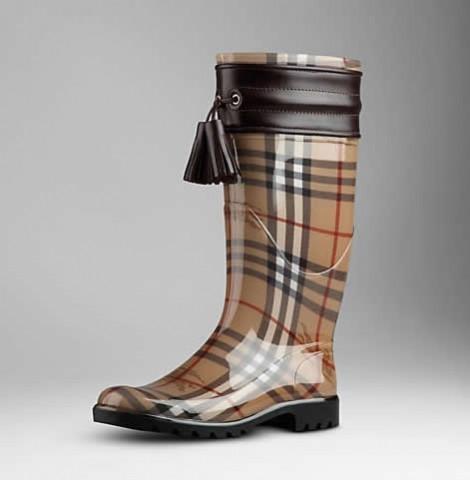 Stivali da pioggia Burberry
