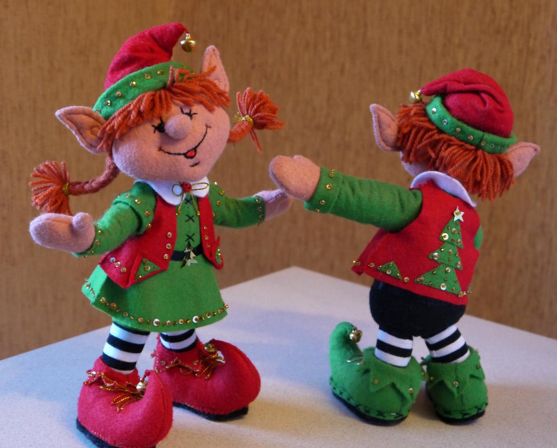 Elfo di Natale fai-da-te