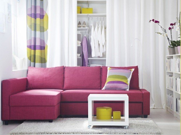 Friheten divano letto angolare