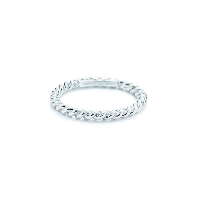 Mini anello Tiffany Twist in argento