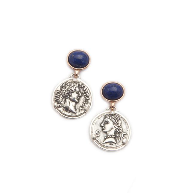 Gioielli Puttini: orecchini argento Provident Capri