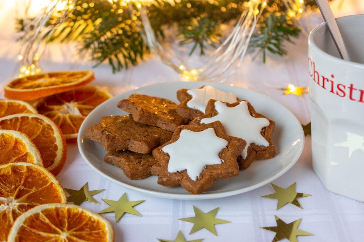 Stelline di Natale alle spezie