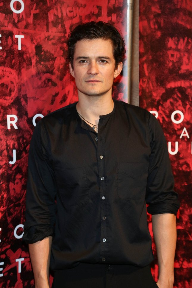 Orlando Bloom, attore protagonista e produttore della pièce teatrale