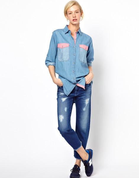 Camicia di jeans Mihi