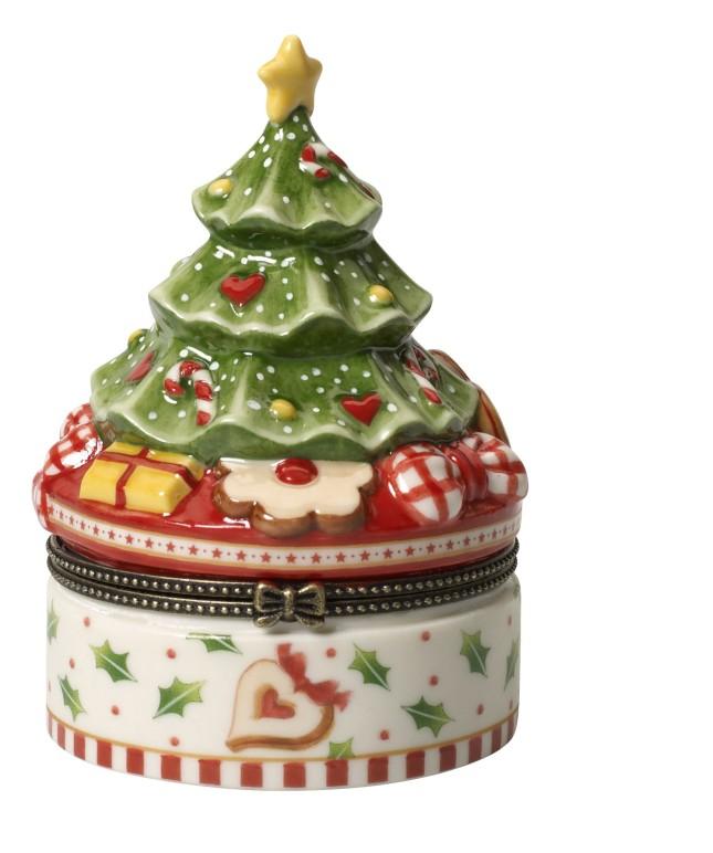 Winter Bakery Decoration: Scatola di pasticceria Albero di Natale - 49,00 euro