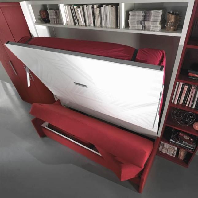 Spinelli - letto a scomparsa modello Best con divano CS11/19