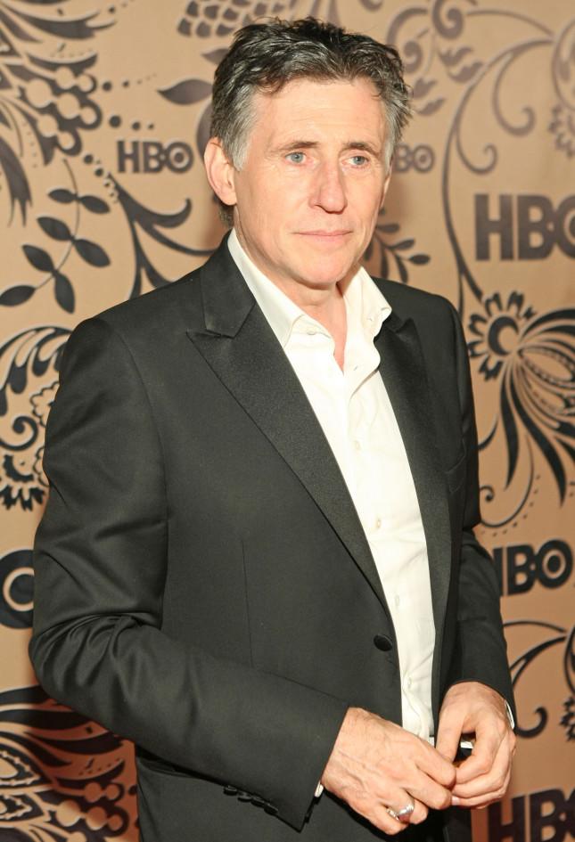 L'attore irlandese Gabriel Byrne.
