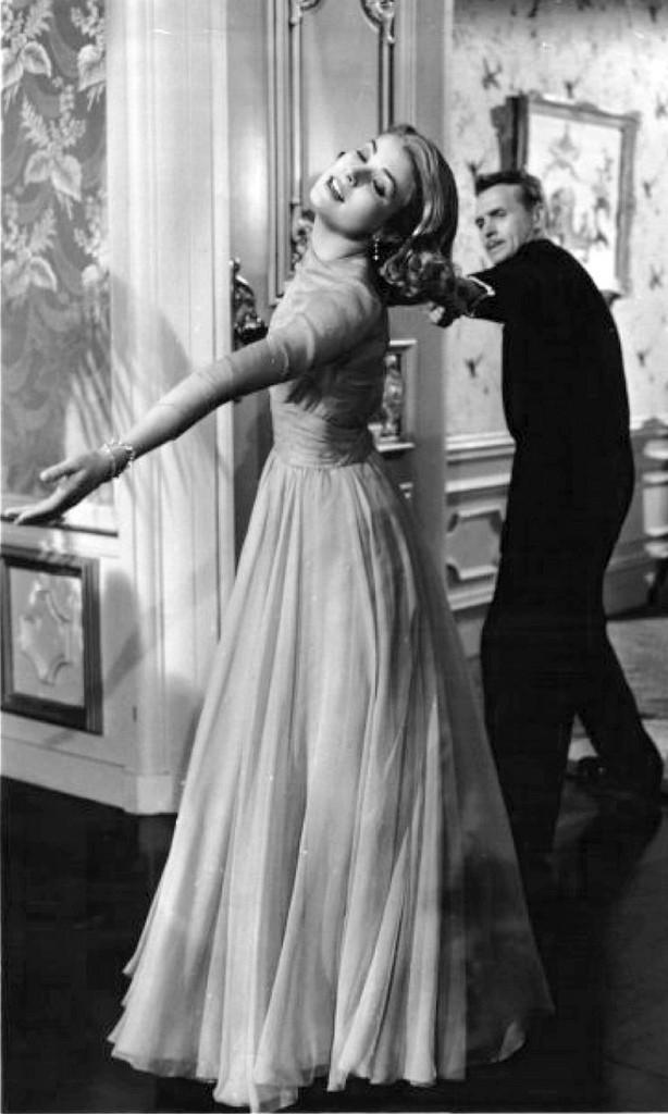 Grace Kelly era così innamorata del suo anello che non se ne separava mai: lo volle indossare persino per tutta la ripresa del suo ultimo film, High Society, del 1956