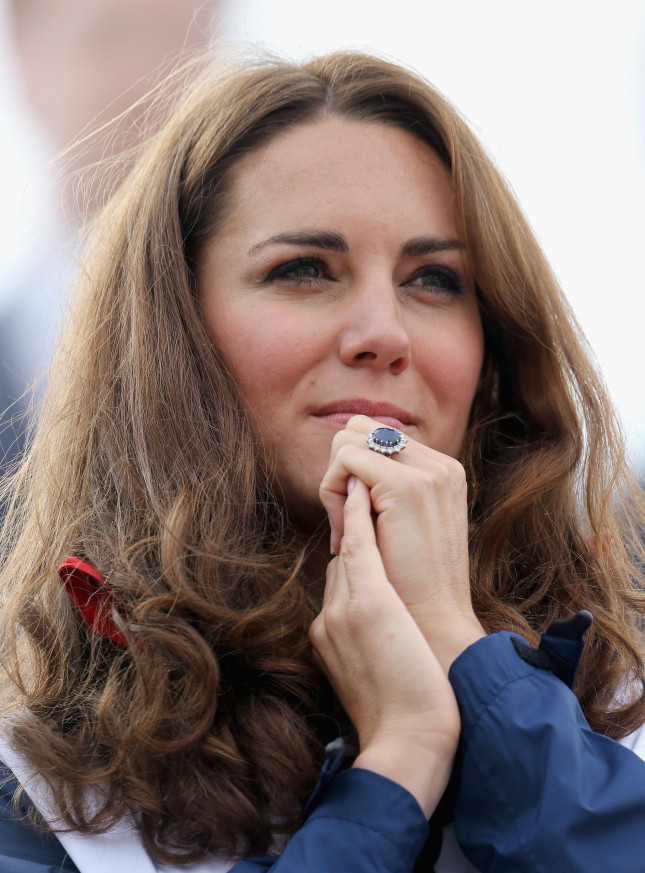 Kate indossa sempre il suo anello di zaffiro blu appartenuto a Lady Diana, anche l'anno scorso in occasione dei Giochi Paralimpici