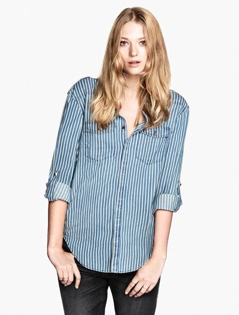Camicia di jeans H&M