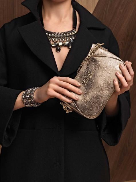 Liu Jo autunno/inverno 2013/14: pochette Audette, girocollo e bracciale Rhinestone