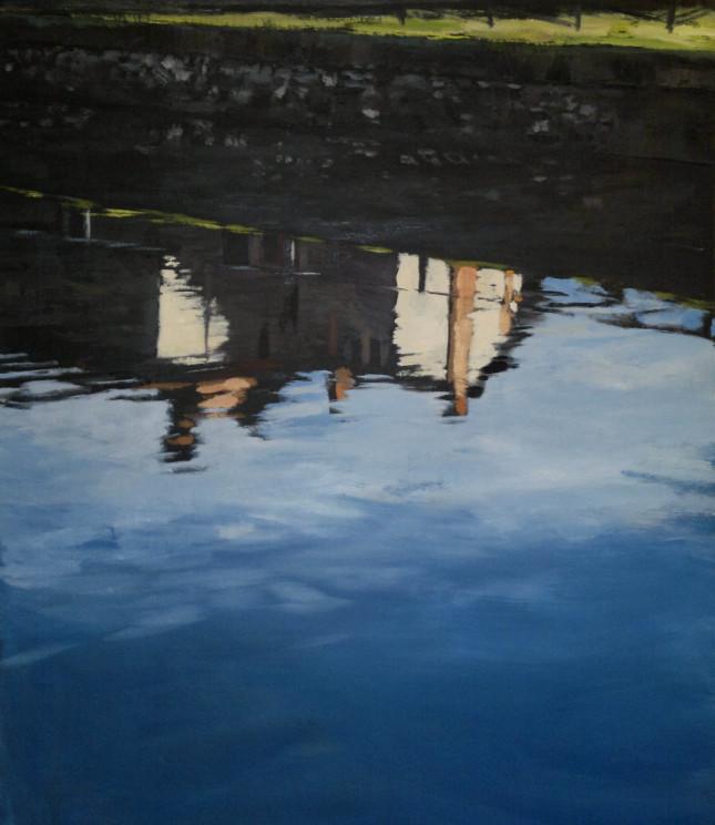 Milano 15, olio su tela, 80x110cm