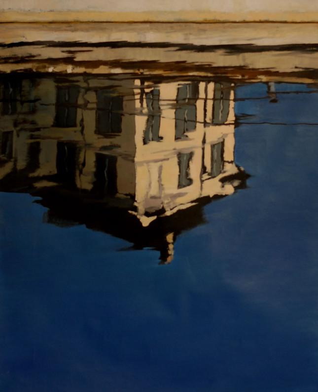 Milano 19, olio su tela, 90x100cm