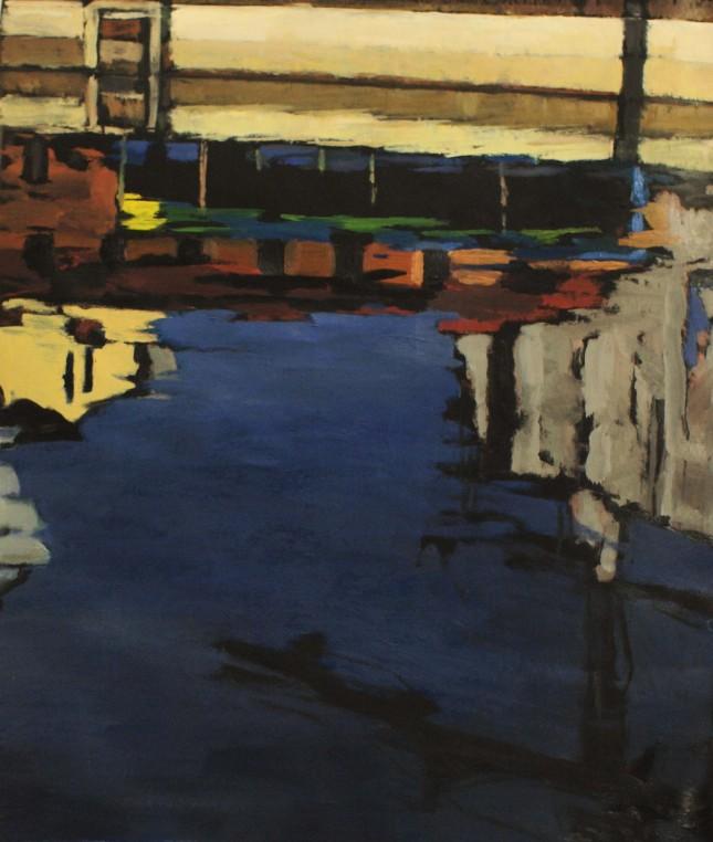 Milano 2, olio su tela, 70x90cm