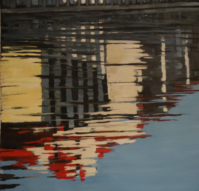 Milano 20, olio su tela, 95x100cm