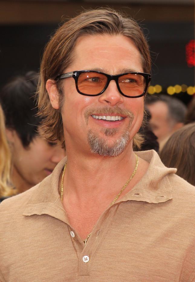 Brad Pitt a una première della DreamWorks