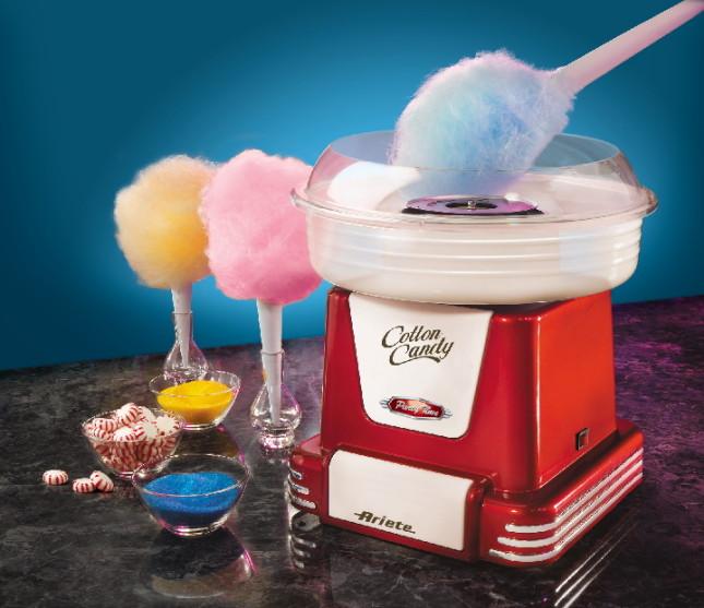 Macchina per lo zucchero filato Cotton Candy di Ariete, particolare
