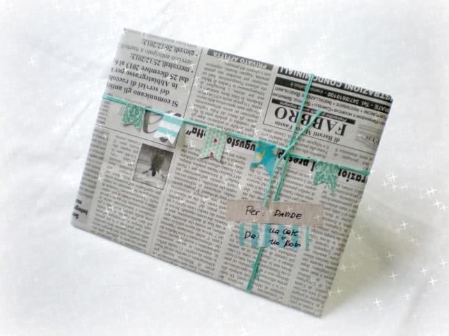 Il washi tape abbelliscequalsiasi cosa, anche la carta di giornale