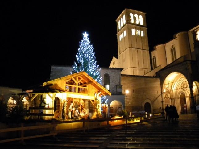 Le statue di Tesero ad Assisi