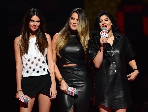 Kendall Jenner, Khloe Kardashian e Kylie Jenner all'iHeartRadio Music Festival