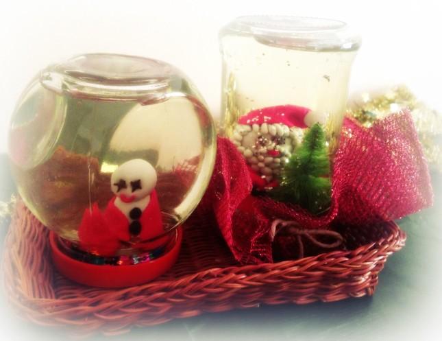 Ecco le tue boule de neige confezione-regalo