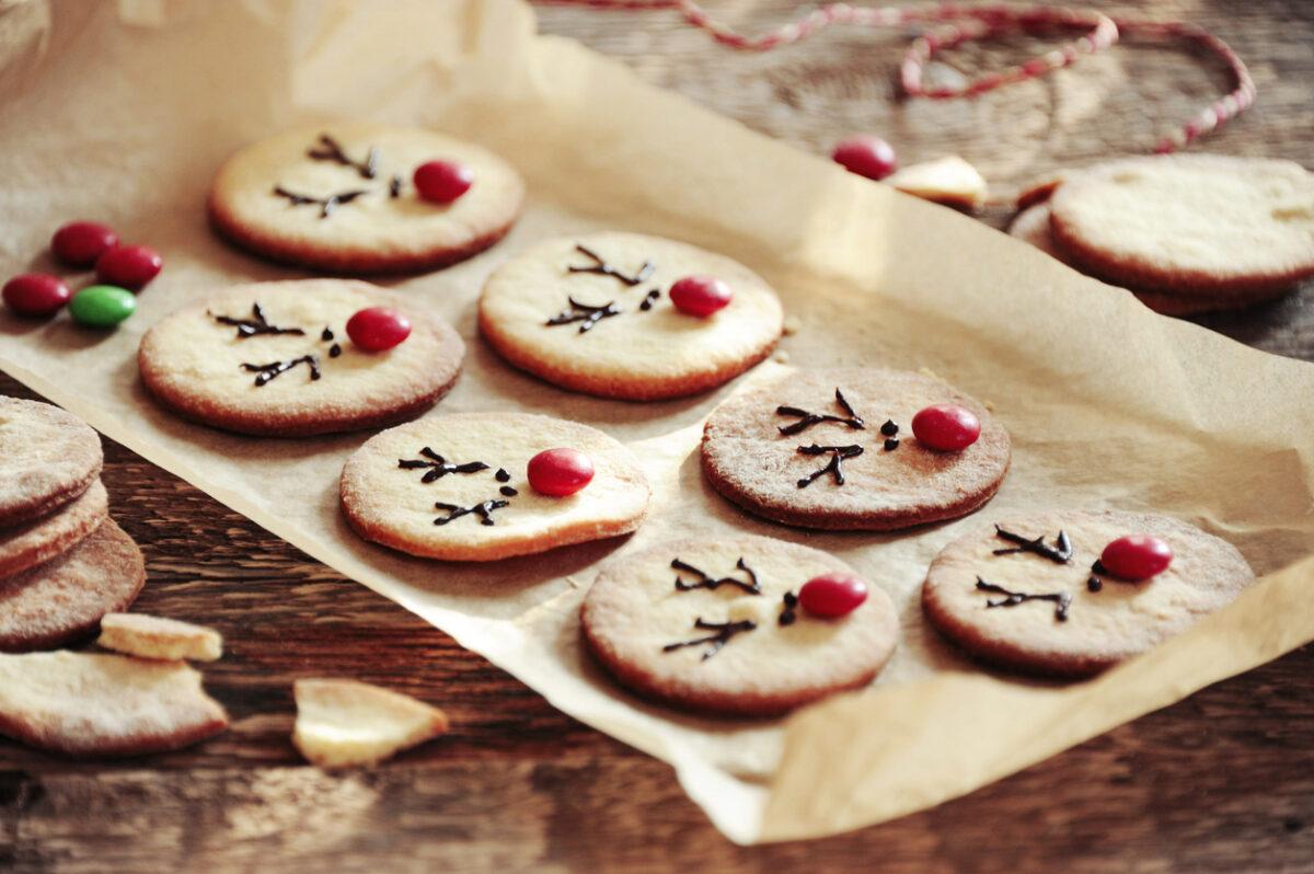 Renne biscotto di Natale