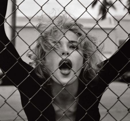 Sharon Stone, foto di Michel Comte