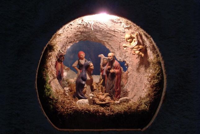 Presepe in miniatura pg www.visitfiemme.it, foto di Cristina Vinante