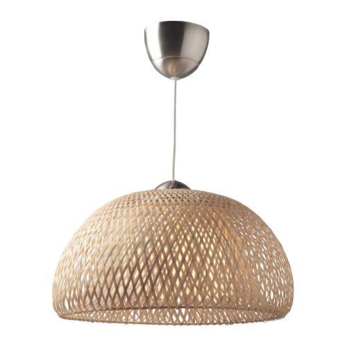 Boja, lampada a sospensione in bambù