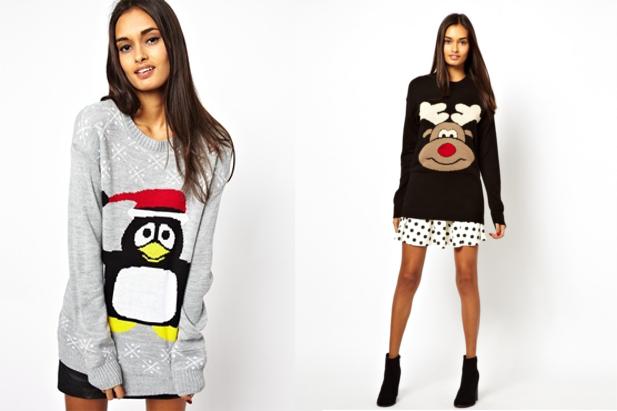 Pinguini e renne nei maglioni Club L