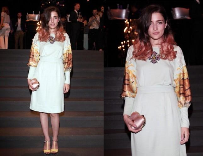 Eleonora Carisi Dolce&Gabbana evento (2013)