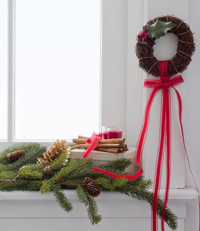 utilizzare aghi di pino per diffondere gli aromi