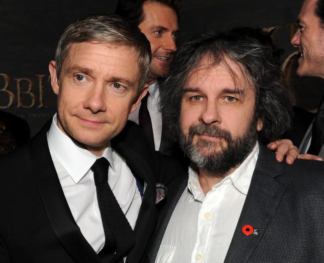Peter Jackson e Martin Freedman, regista e protagonista del secondo capitolo del