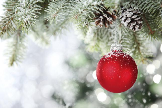 Rosso, ma anche giallo, bianco, blu e viola: i colori del Natale 2013