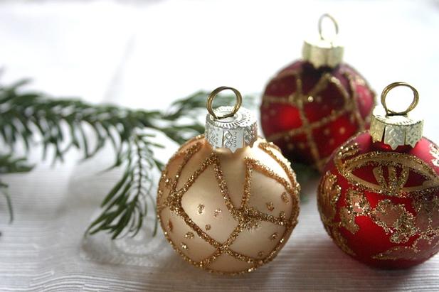 Oro e rosso, i colori classici del Natale