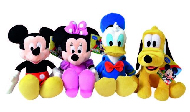 Peluche personaggi Disney. Minnie, Topolino e tante idee per il Natale dei più piccoli