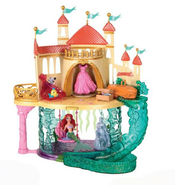 Disney Store castello di Ariel