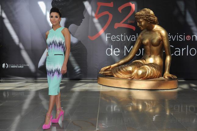 Eva Longoria al Monte Carlo TV Festival