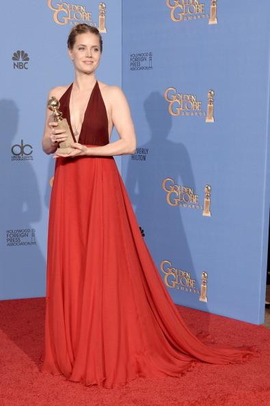Amy Adams vincitrice del Golden Globe come migliore attrice in un film non drammatico in American Hustle